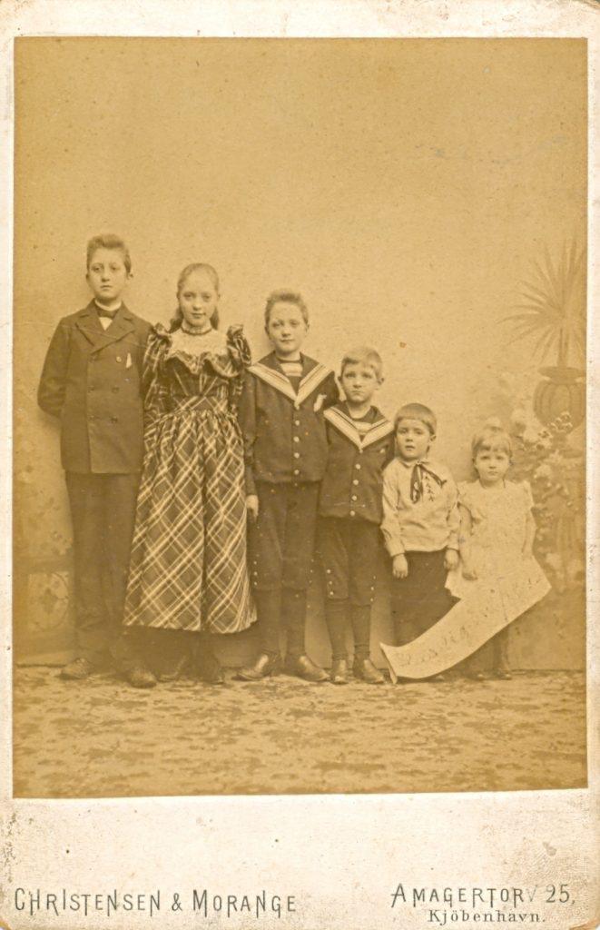 1.1  Familien Bøytler  Christensen og Morange 1160