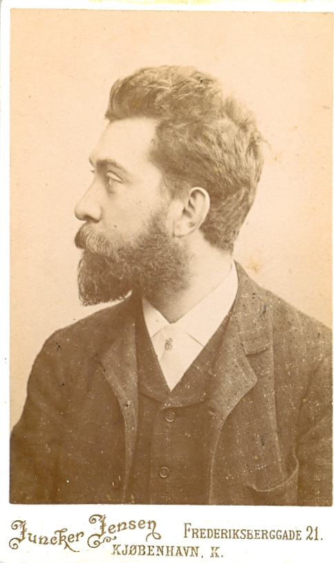1.21  Portræt af Arnold Ruhwer Bøytler.  Juncker Jensen Frederiksberggade 1459