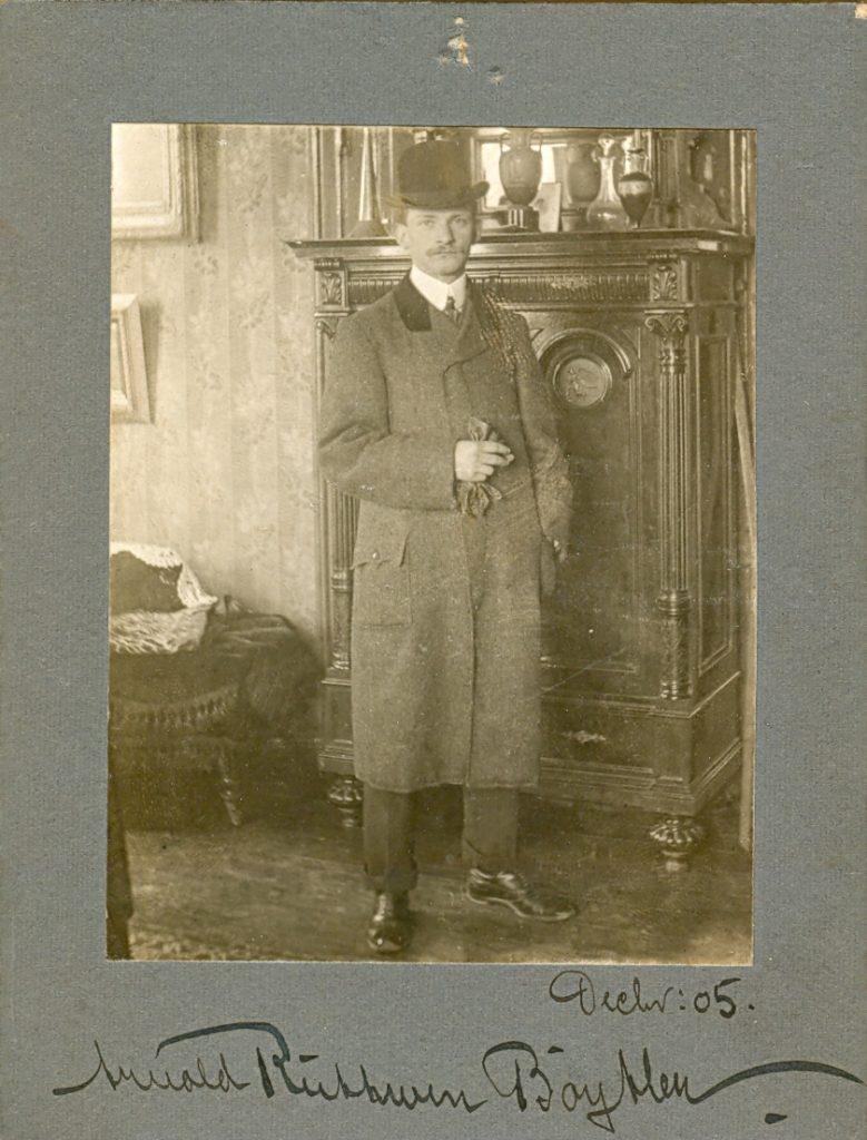 1.40  Portræt af Arnold Ruhwer Bøytler.  December 1905