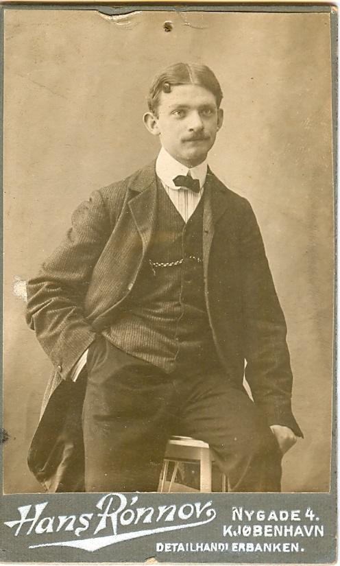 1.6  Portræt af Arnold Ruhwer Bøytler  Hans Rønnov Nygade 1164
