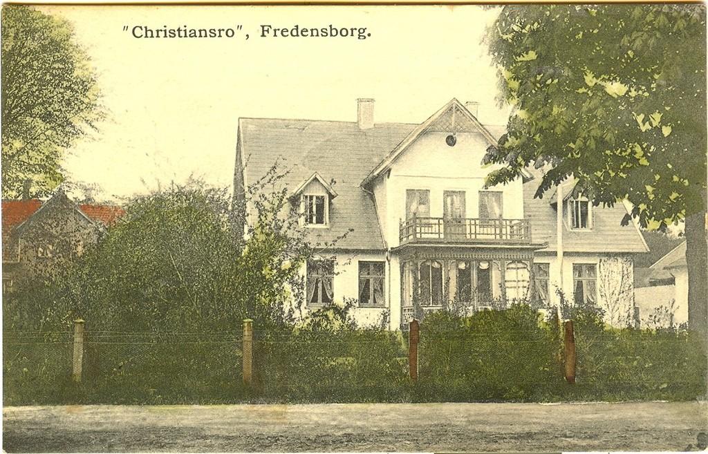 3480.1   Ejendommen Christiansro, Helsingørsvej. Tidligere var den hvilehjem/plejehjem, nu bruges den til privat beboelse.
