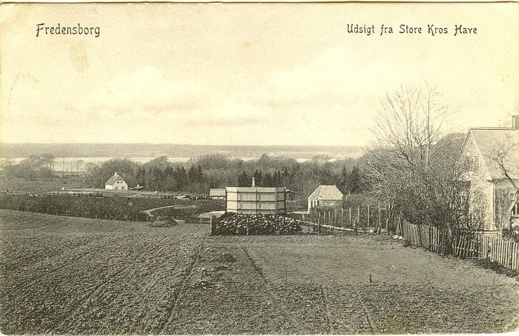 3480.38  Udsigten fra Store kros have.  Kort poststemplet juli 1908