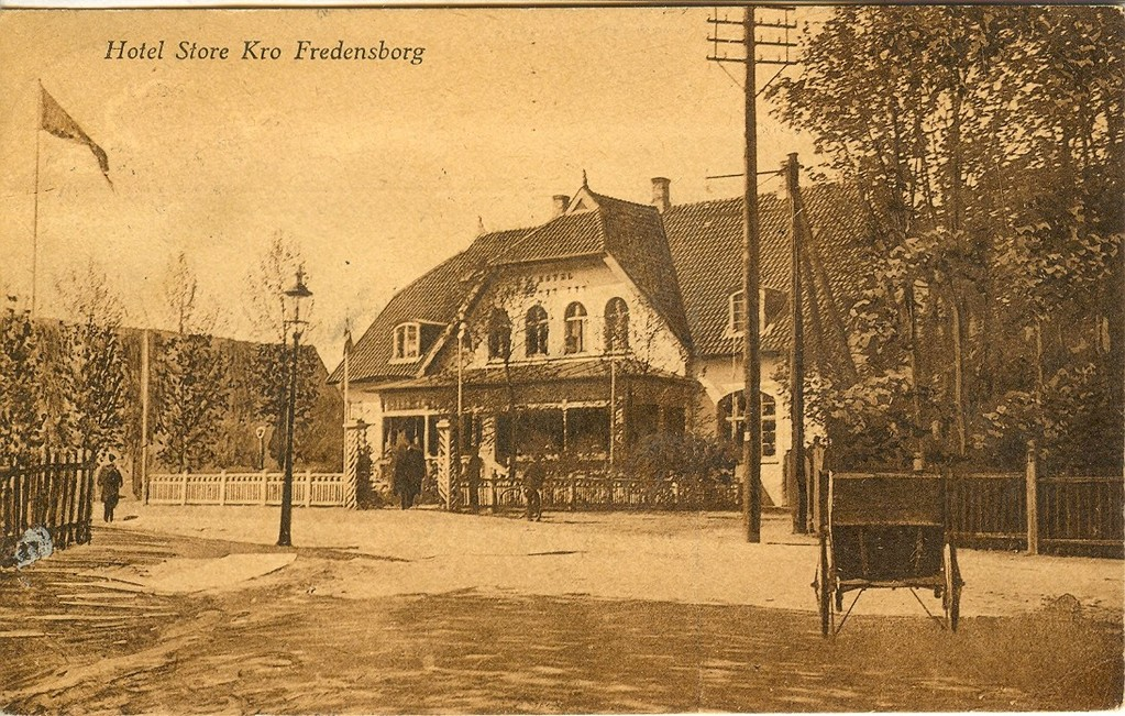 3480.39  Hotel Store Kro  Kort poststemplet august 1920