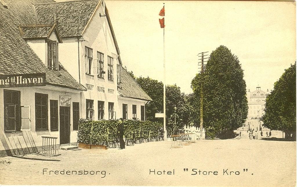3480.40  Hotel Store Kro, kort uden årstal.