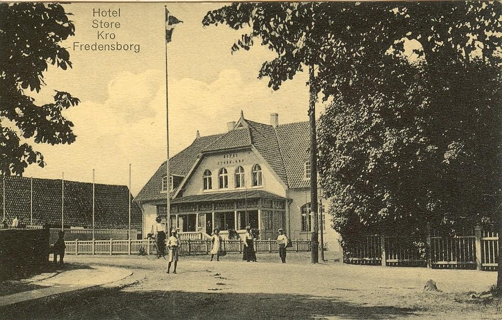 3480.42  Hotel Store Kro, kort uden årstal.