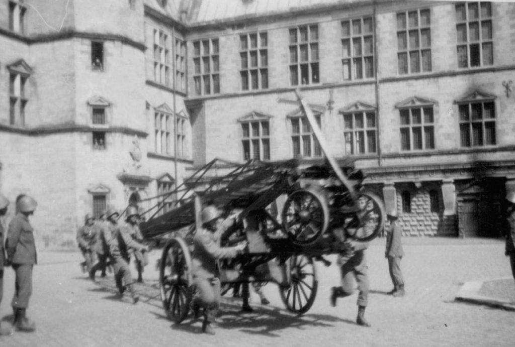 100.114 stigeøvelse ved Kronborg 1933