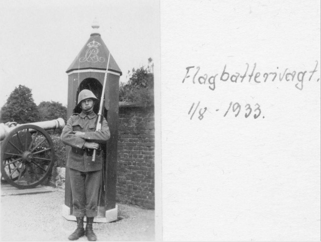 100.119 Soldat ved Kronborg 1933