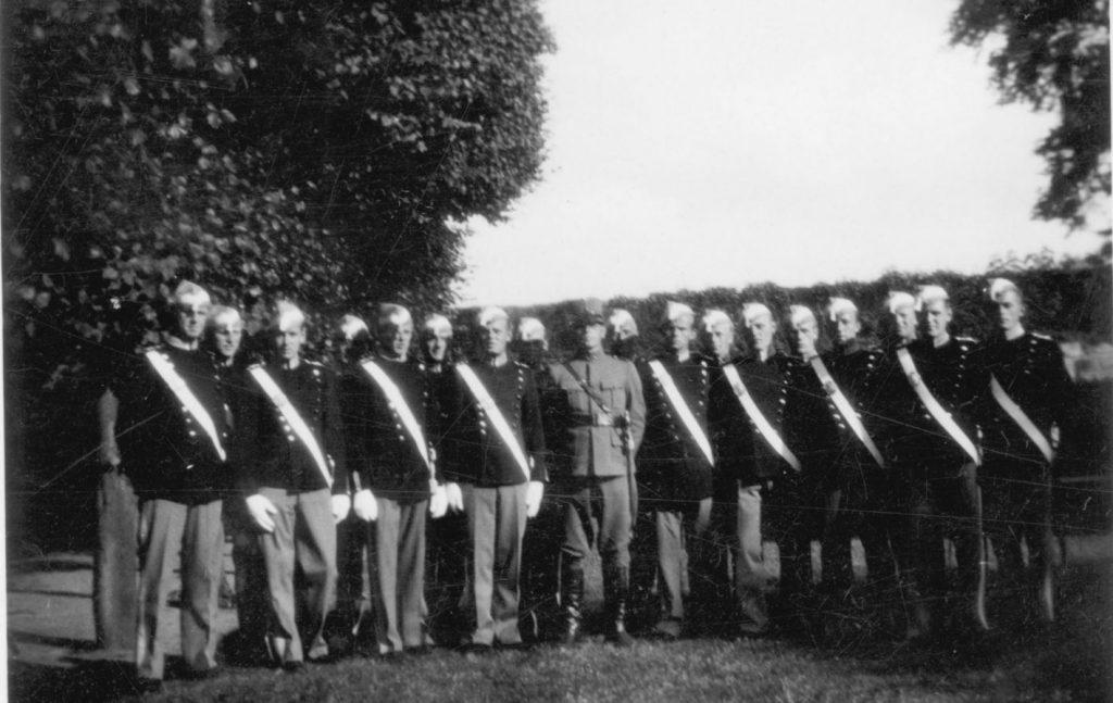 100.122 Soldater ved Kronborg cirka 1933