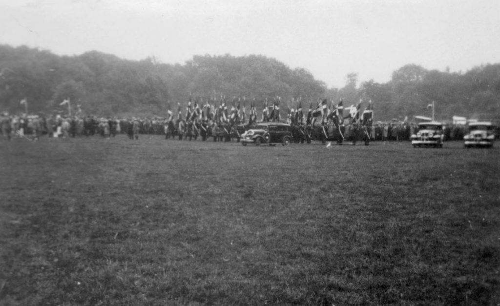 100.124 Soldater ved Kronborg cirka 1933