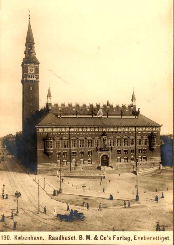 10879.7  Københavns rådhus.   Postnummer 1599