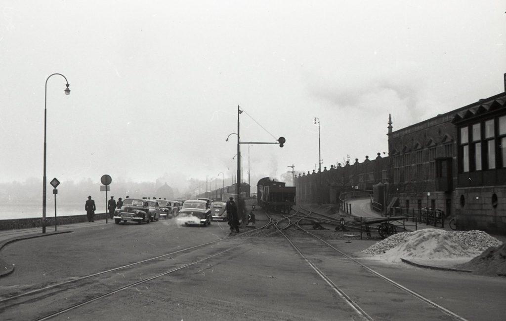 100.4.293 Havnepladsen cirka 1955