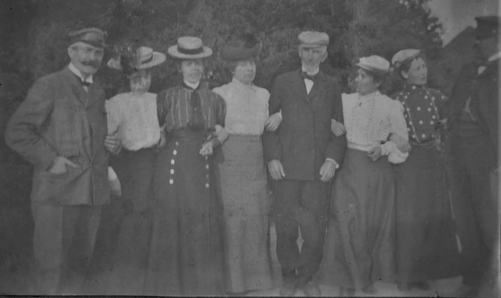 Esbjerg 1905. 71.14  Dr. Nielsen til venstre, Foged Jespersen til højre. 6700