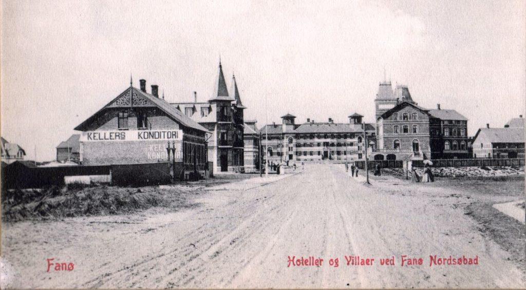 71.140 Fanø. Hoteller og villaer ved Fanø Nordsøbad. Ubrugt udateret postkort 6720