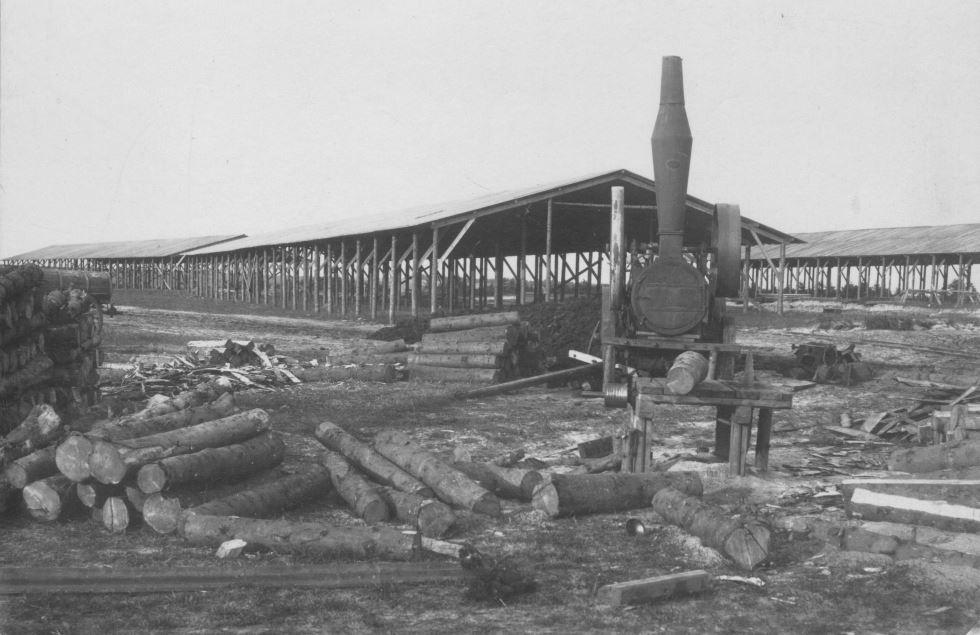 "71.156 Hejnsvig 1917 : "" Tørveskure "" 7250"