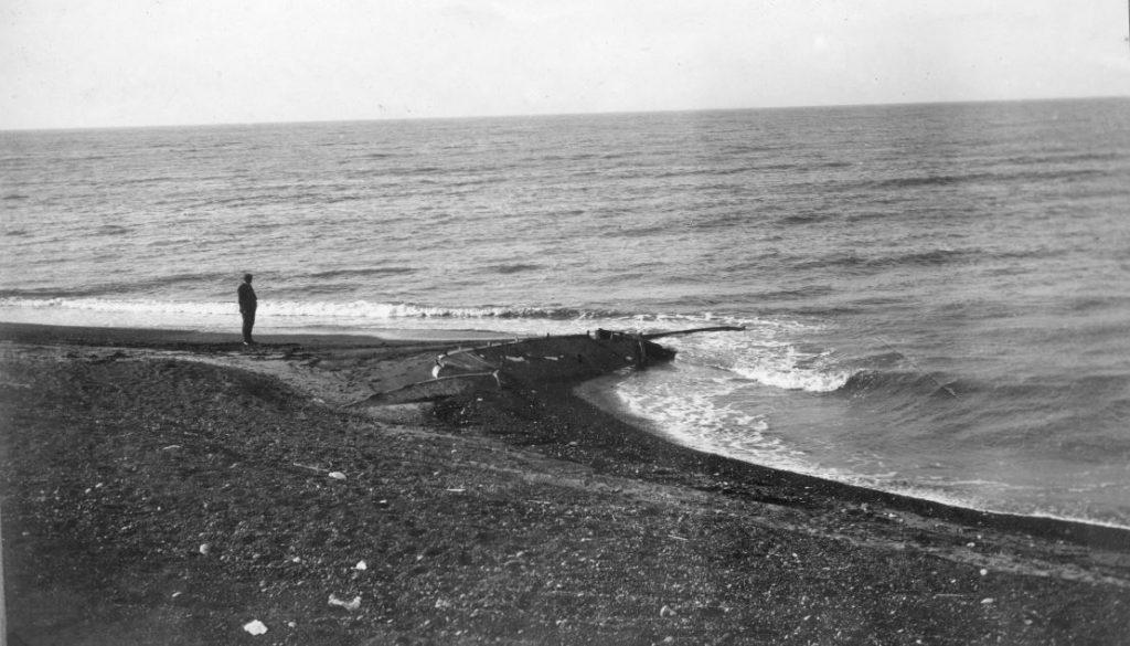 """71.158 Hanstholm : """" Molen ved Kællingdal byggede Sletting. Man ser de gamle både """"  7730"""