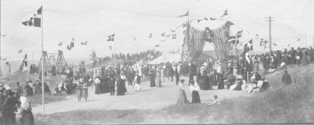 71.61   Frederik 8. besøg i Vorupør, 8. august 1908  7700