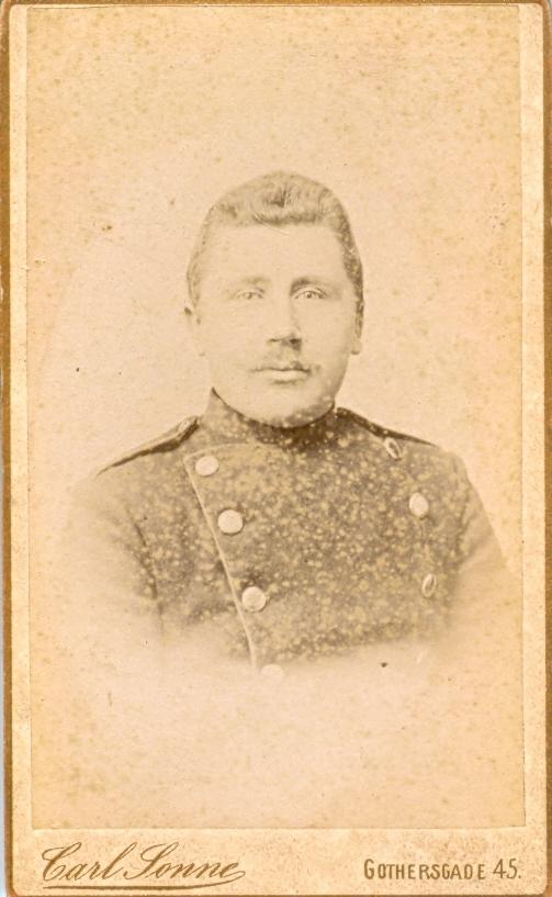 9.10.1  Batallion Ordonans Nr 609 Aar 1891 Christian Jensen