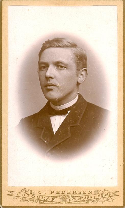 9.11.1  Lillemose, Lærer i Mørke postnr. 8544 ca. 1888-1896