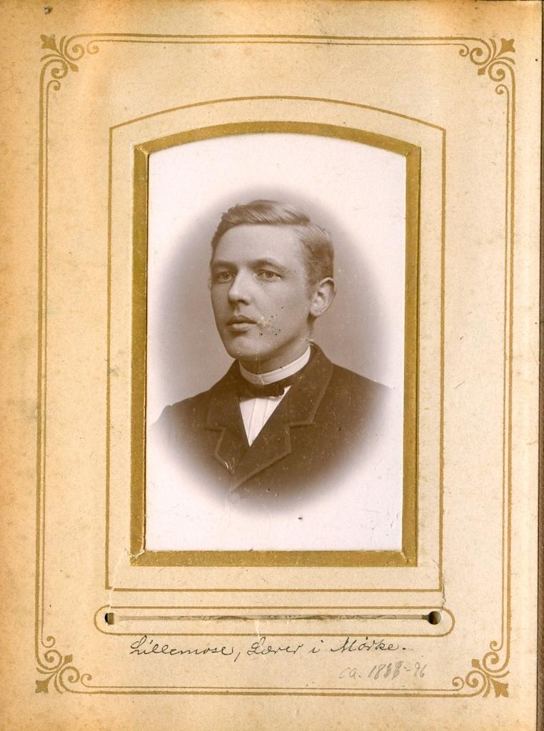9.11 Lillemose, Lærer i Mørke postnr. 8544 ca. 1888-1896