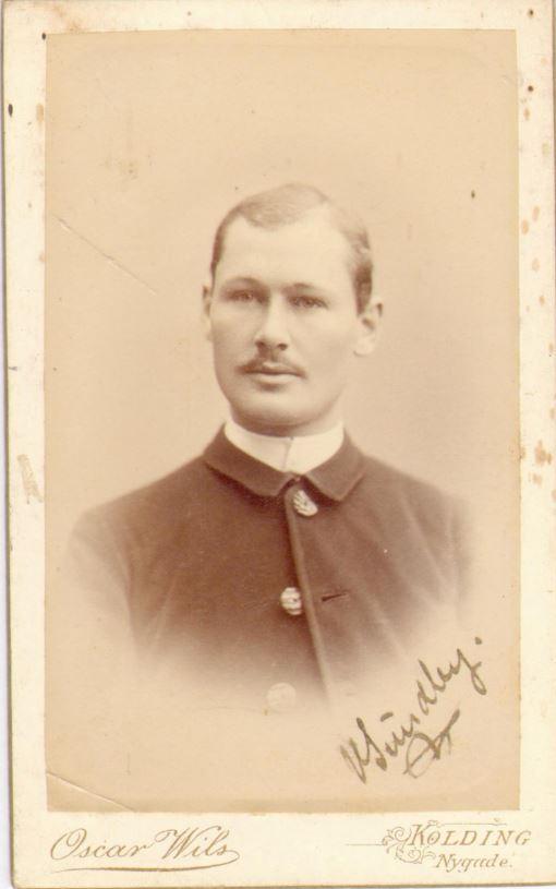 74.101 Vilhelm Sundby f. 7/11 – 1870, Flensborg