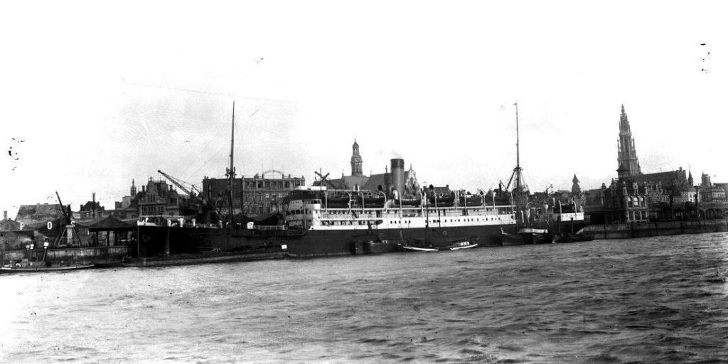 11431.10  Ukendt skib, ukendt havn. Ikke i Danmark ?
