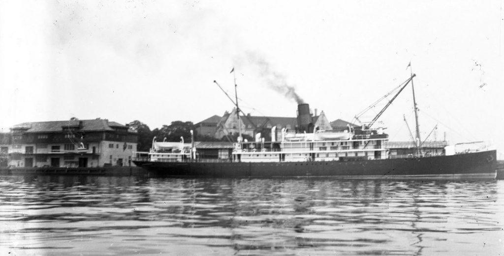 11431.12  Ukendt skib, ukendt havn.