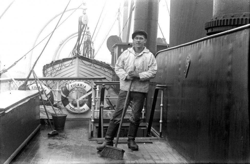 11431.5  Passagerbåden Ficaria. Bygget 1896.