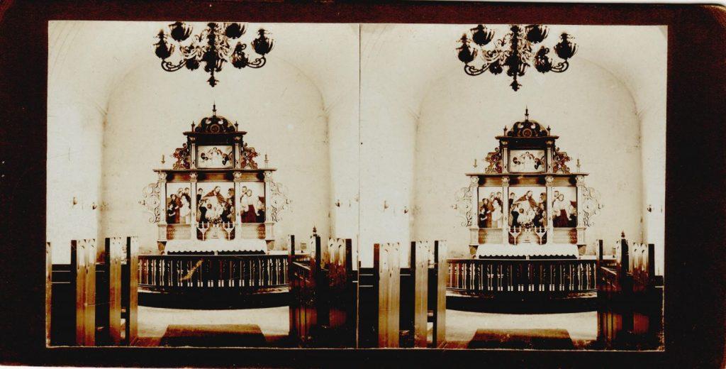 11432.27  Harboøre Kirke, 7673 cirka 1914  Fotograf ukendt, men det er nok Peter Møller, Rask Mølle
