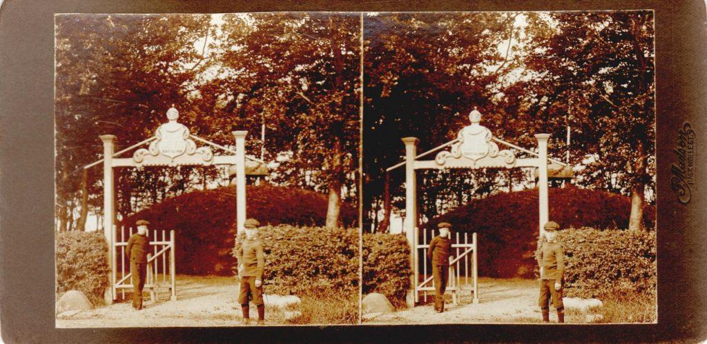 11432.3  Ryes Høj ved Fredericia cirka 1914  Fotograf Peter Møller, Rask Mølle