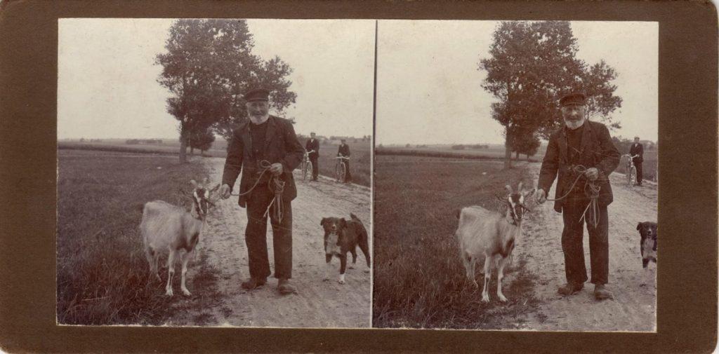 11432.30  Ukendte personer. Billede fra cirka 1914  Fotograf ukendt, men det er nok Peter Møller, Rask Mølle