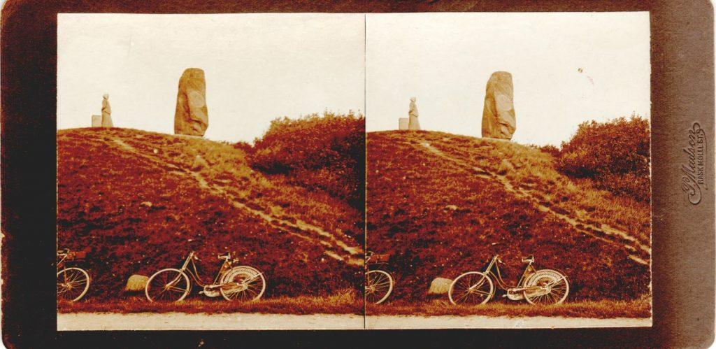 11432.8  Lyshøj, gravhøj i 8800 Viborg.  Fotograf Peter Møller, Rask Mølle