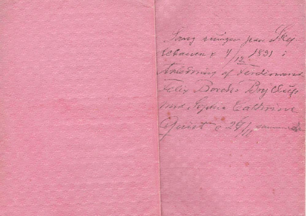 75.120.1  Sang sungen på Skyttehaven 4. december 1831 i anledning af Ferdinand Felix Borchs bryllup med Sophie Cathrine Quist den 26. november samme aar.