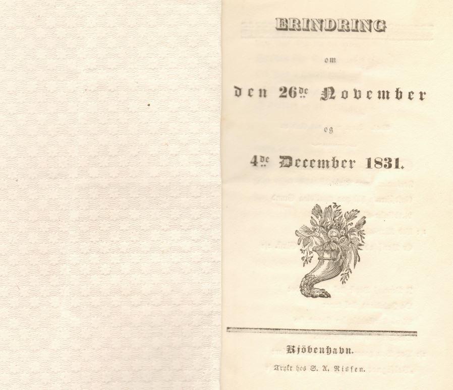 75.120.2  Sang sungen på Skyttehaven 4. december 1831 i anledning af Ferdinand Felix Borchs bryllup med Sophie Cathrine Quist den 26. november samme aar.