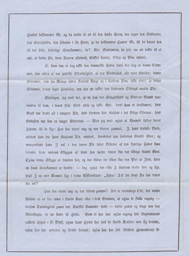 75.122.3  Sang ved Peter Martin Quists båre ved hans død 27. november 1858. Quist var murermester og chef for Københavns brandkorps. Svigerfar til G.F Borch. Se mere om Quist i Wikipedia.