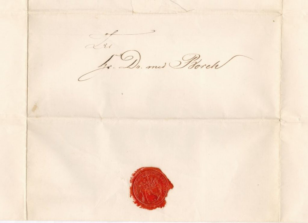 75.135.2  Udnævnelse til doktor for Georg Ferdinand Borch.  Dateret 20. januar 1866 hvor Borch var 30 år.