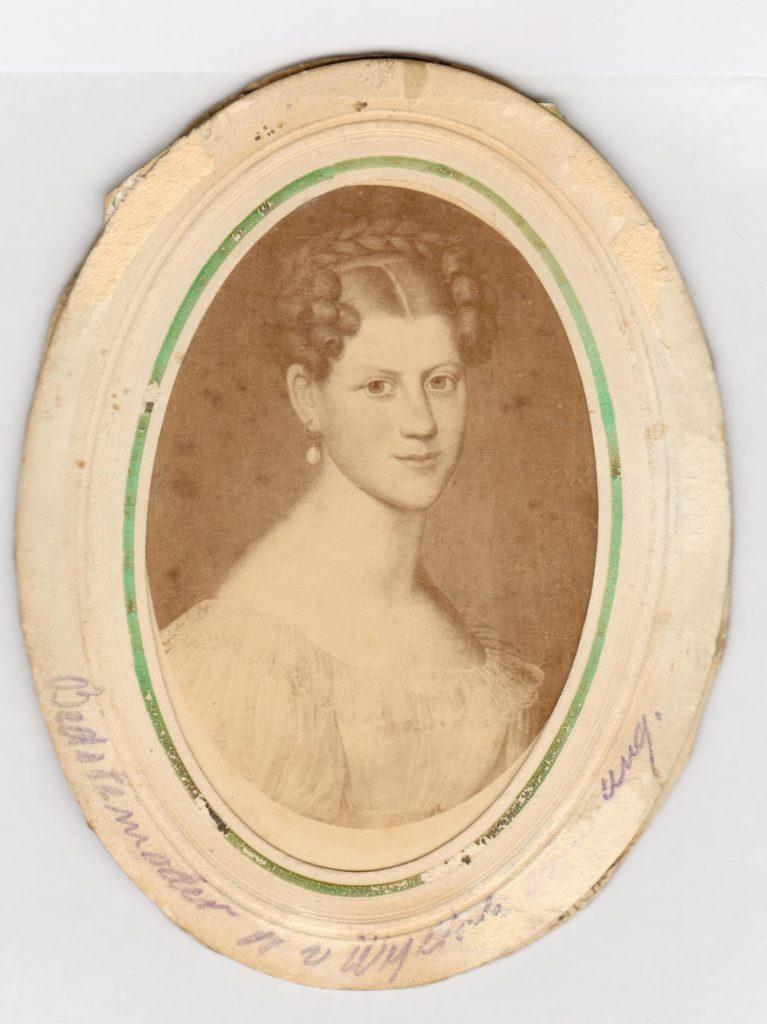 75.98  Bedstemoder van Wylich   Ukendt fotograf, ukendt datering.
