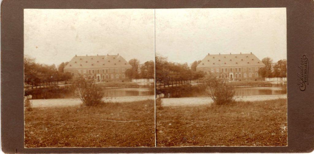 11432.11  Valdemars Slot på Tåsinge cirka 1914  Fotograf Peter Møller, Rask Mølle