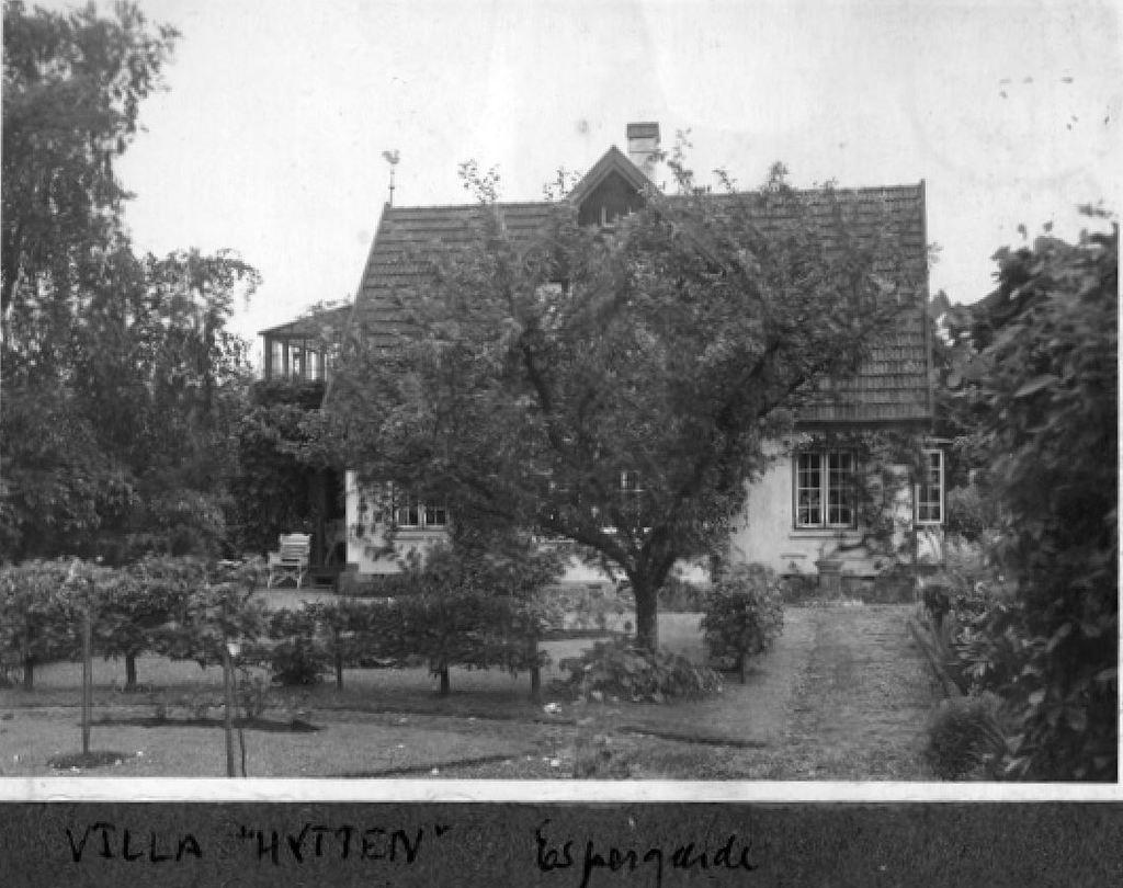 10578.16  Villa Hytten, Gl. Skovvej 1, Espergærde.