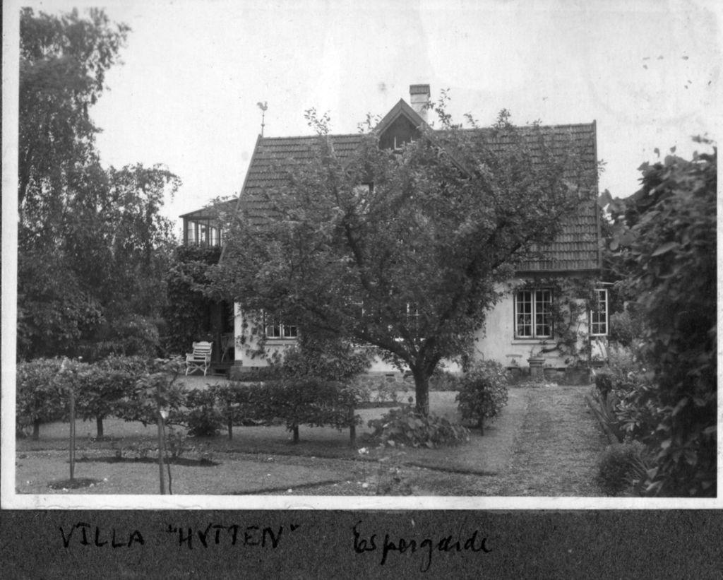 10578.9  Villa Hytten, Gl. Skovvej 1, Espergærde.