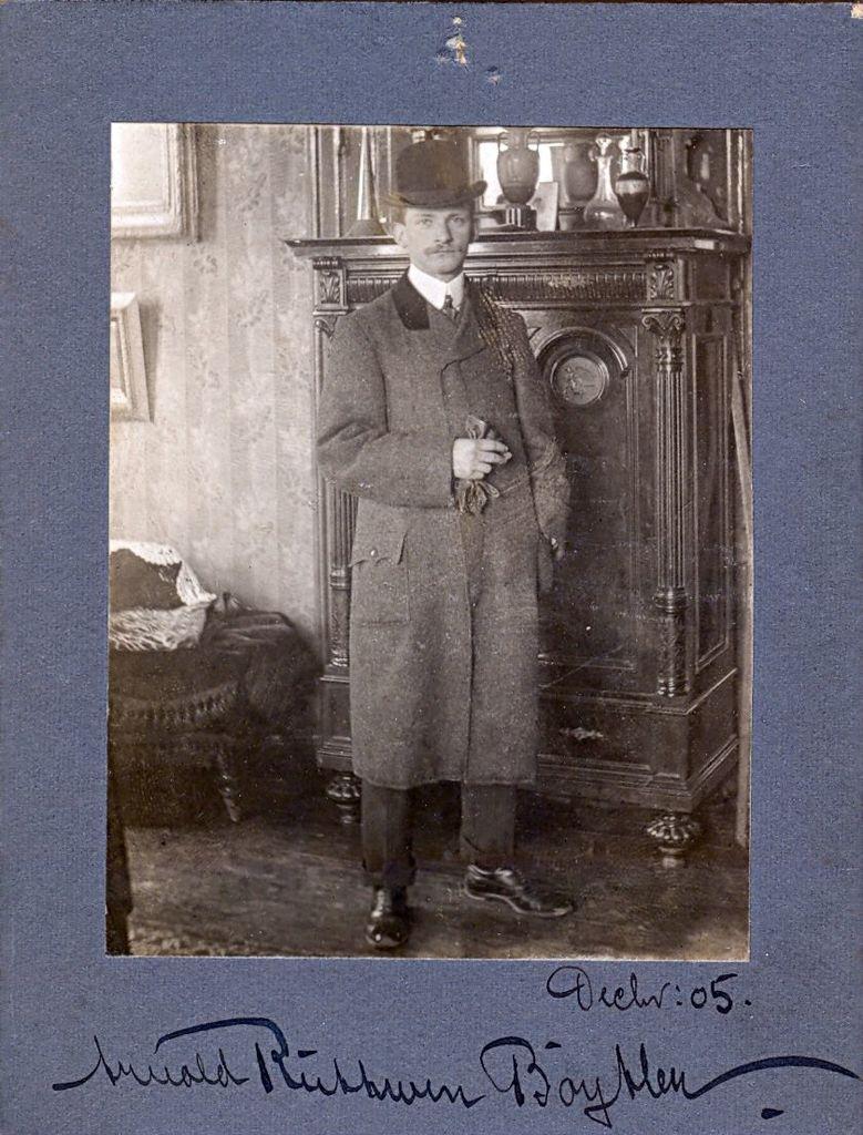 1.40 Portræt af Arnold Ruhwer Bøytler.December 1905