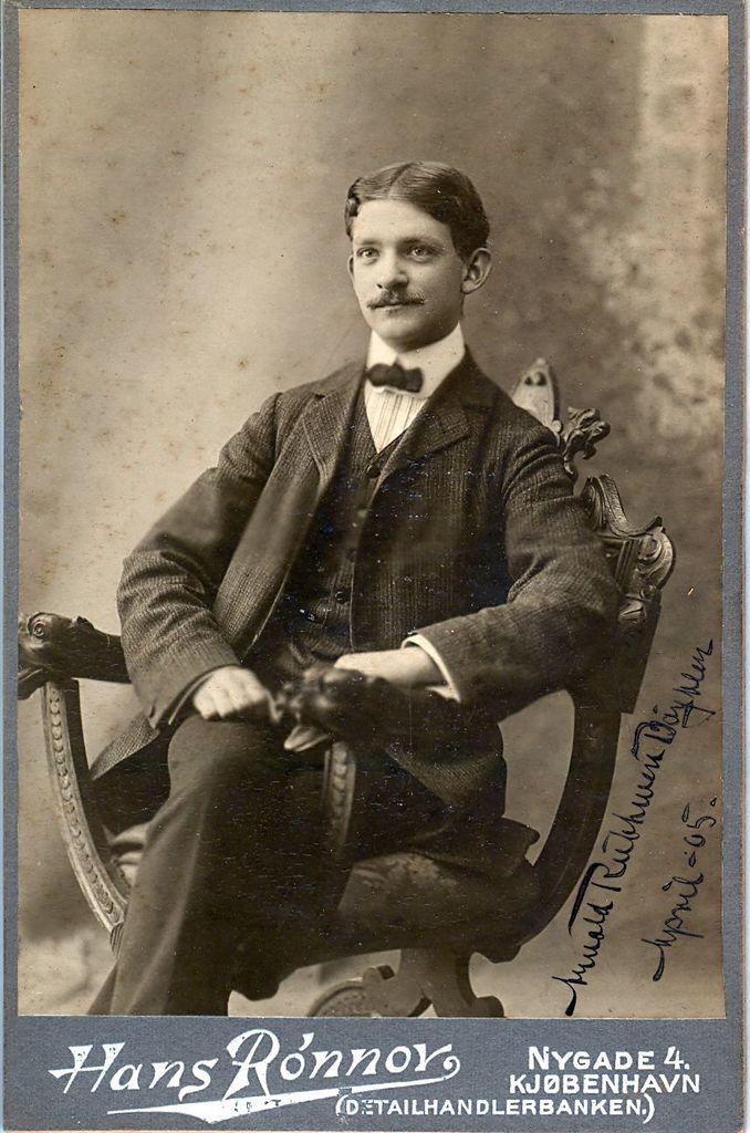 1.5.1 Portræt af Arnold Ruhwer Bøytler.April 1905