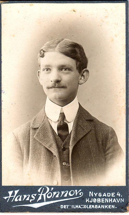 1.7.1 Portræt af Arnold Ruhwer Bøytler.