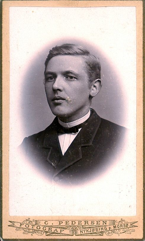 9.11 Lillemose, Lærer i Mørke postnr.8544. ca. 1888-1896