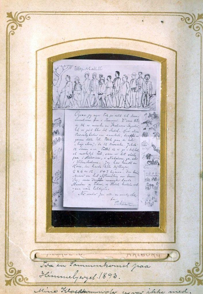9.36 Fra en sammenkomst på Himmelbjerget 1893.