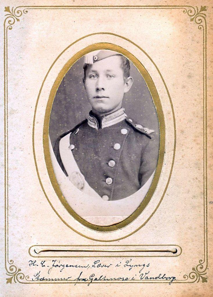 9.6 H.C Jørgensen, Lærer i Lyngs