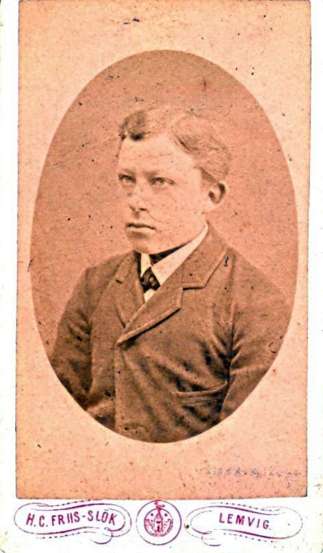 9.9 -P.V.S Borup, Lærer i Hanning postnr. 6900