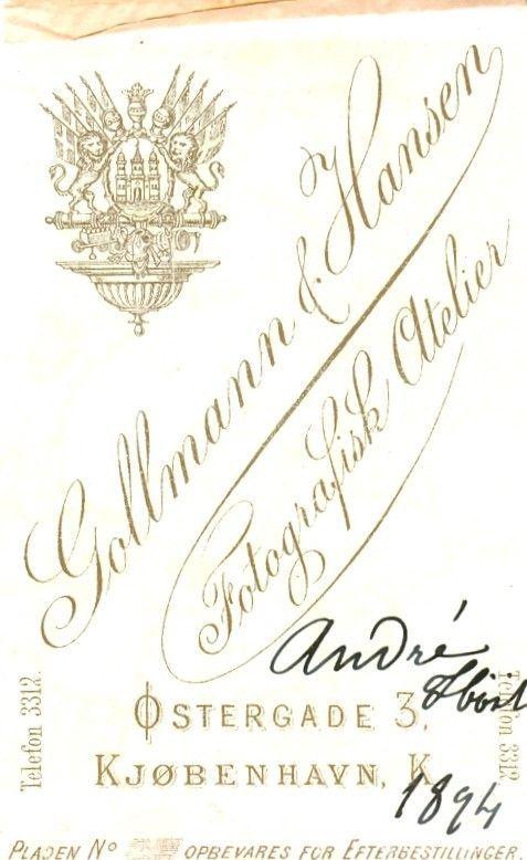 14.42  Andre Høst 1894
