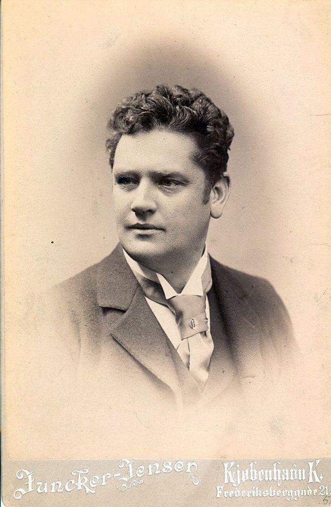 15.16 Skuespiller Emil Zangenberg 1853-1914.