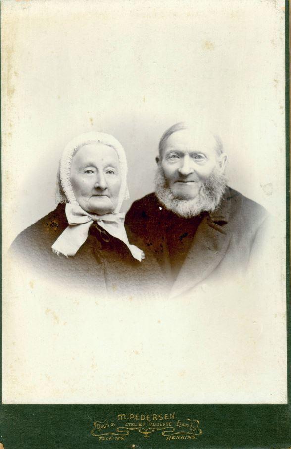 18.2 Karen Pallesdatter Fløe, Peder Donsig Pedersen, f.1814