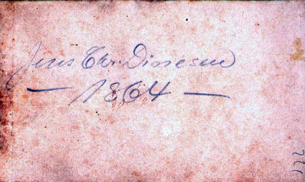 18.77 Jens Chr. Dinesen 1864